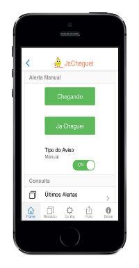 JaCheguei: Aplicativo para escola