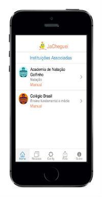 JaCheguei: Aplicativo resolve o trânsito nas escolas